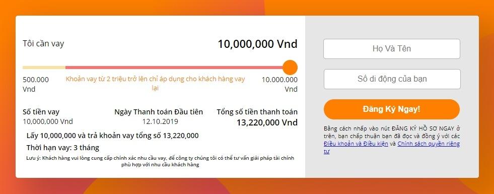 Ứng Dụng Vay Tiền Online Nhanh (Vay 1-10 Triệu Lãi Suất 0%) 3