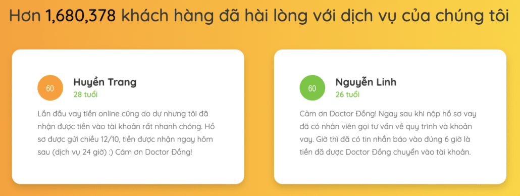 Khách hàng review về Doctor Đồng