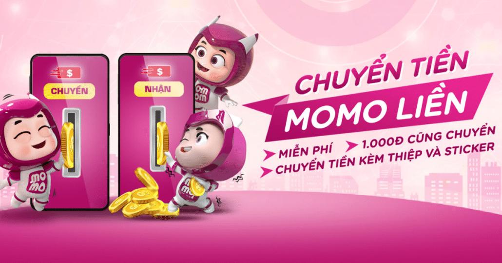 Chuyển tiền Momo đến 45 ngân hàng nội địa