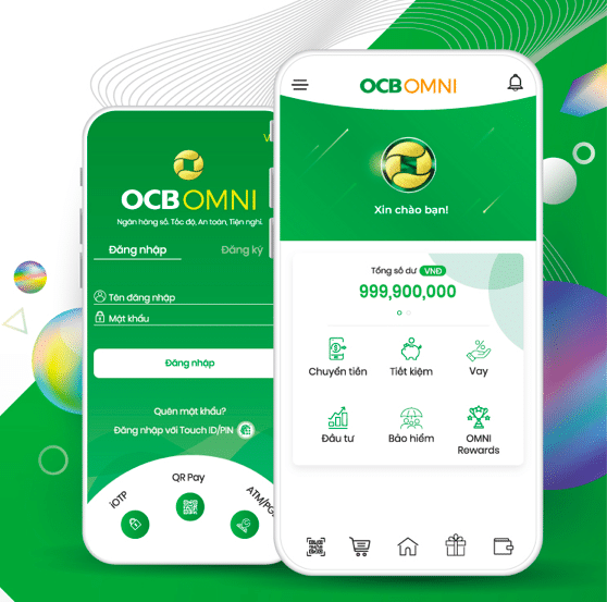 Mở tài khoản OCB Omni