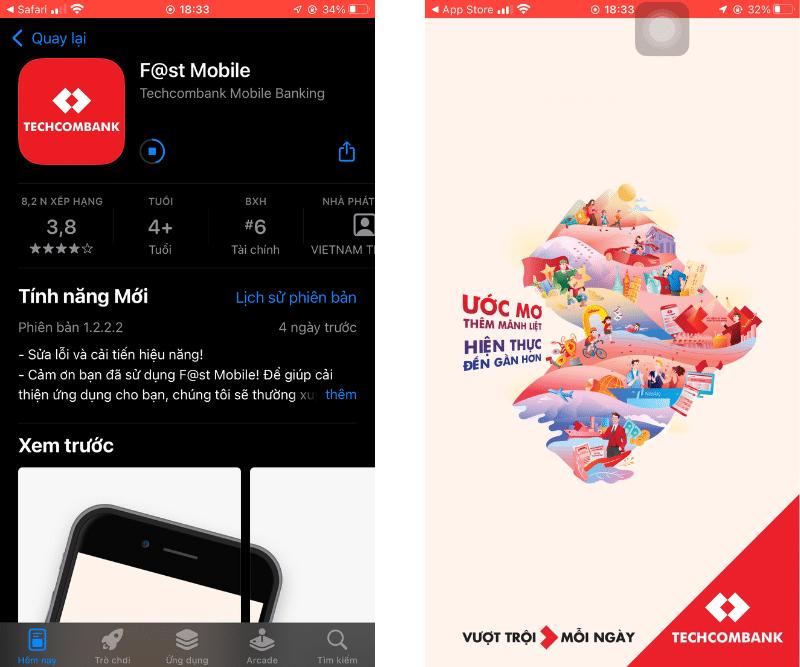 Tải Techcombank về máy, hỗ trợ iOS và Android
